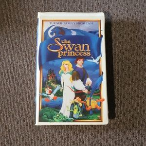 The Swan Princess VHS